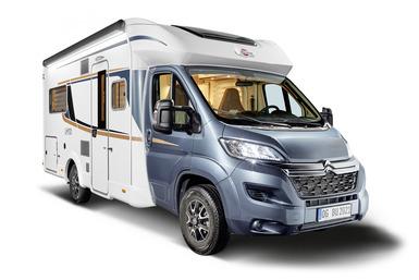 Bürstner Limited T camper modeljaar 2021