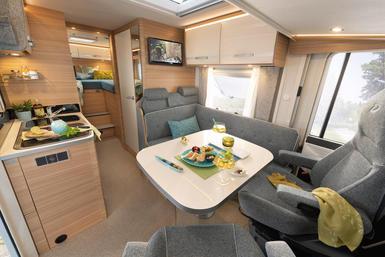 Dethleffs Globebus camper modeljaar 2021