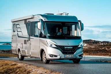 Hymer B-klasse I (integraal) camper modeljaar 2021