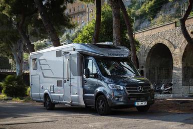 Hymer B-klasse T (halfintegraal) camper modeljaar 2021