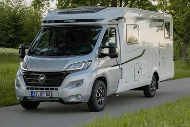 Hymer Exsis-T (halfintegraal) camper modeljaar 2021