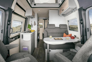 Hymer Free S camper modeljaar 2021