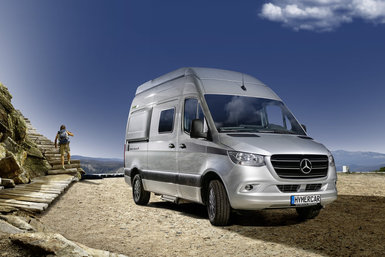 Hymer Grand Canyon S camper modeljaar 2021