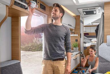 Knaus Van TI camper modeljaar 2021