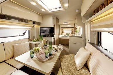 Bürstner Averso Harmony Line caravan modeljaar 2021