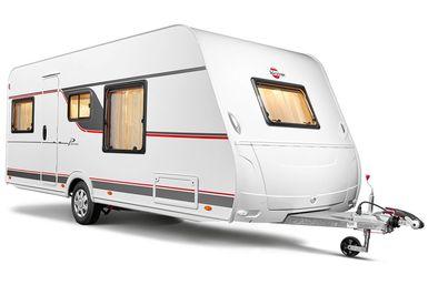 Bürstner Premio caravan modeljaar 2021