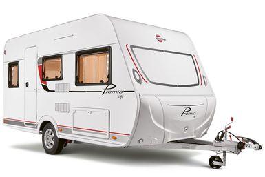 Bürstner Premio Life caravan modeljaar 2021