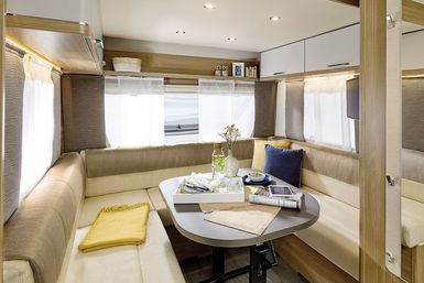 Bürstner Premio Plus caravan modeljaar 2021