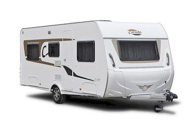 Carado caravan modeljaar 2018