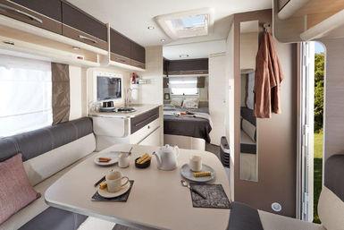 Caravelair Artica caravan modeljaar 2019