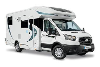 Chausson halfintegraal campers camper modeljaar 2021
