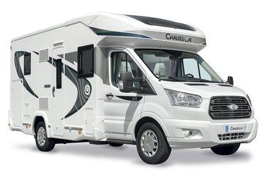 Chausson Special Edition halfintegraal campers camper modeljaar 2018