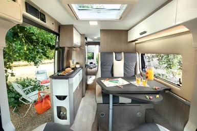Chausson buscampers (Vans) camper modeljaar 2021