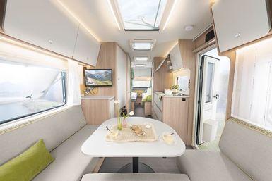 Dethleffs Aero caravan modeljaar 2021