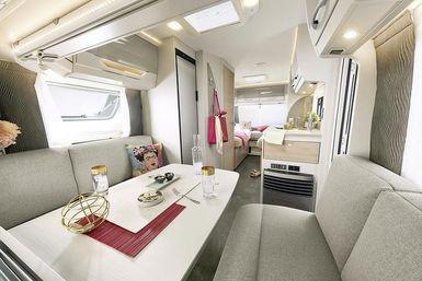 Dethleffs AvantGarde caravan modeljaar 2021