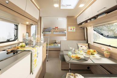 Dethleffs Camper caravan modeljaar 2020