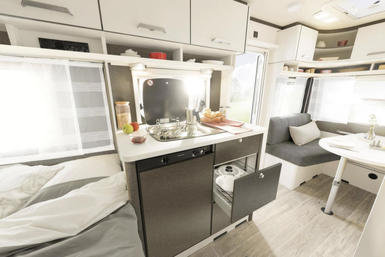 Dethleffs c'go Spring Edition caravan modeljaar 2020