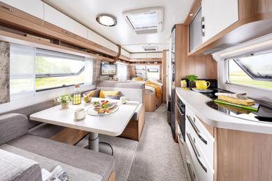 Hobby De Luxe caravan modeljaar 2021