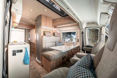 Hymercar Ayers Rock, Grand Canyon, Yellow Stone en Yosemite camper modeljaar 2019