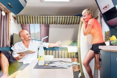 Knaus Sport&Fun caravan modeljaar 2021