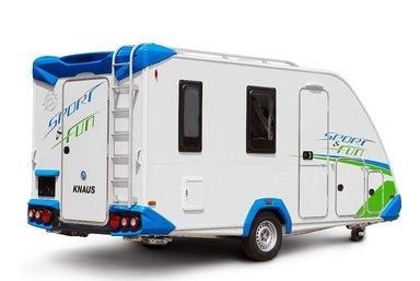 Knaus Sport & Fun caravan modeljaar 2018