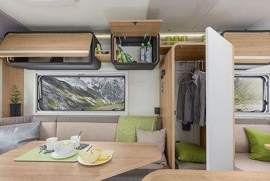Knaus Travelino caravan modeljaar 2018