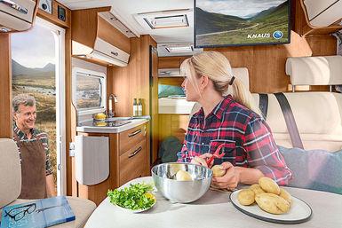 Knaus Van I camper modeljaar 2019