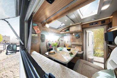 LMC Cruiser T camper modeljaar 2021