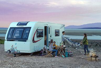 Lunar Stellar-Lexon caravan modeljaar 2018