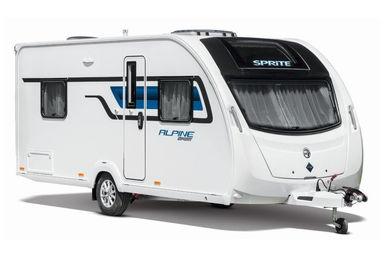 Sprite Alpine Sport caravan modeljaar 2019