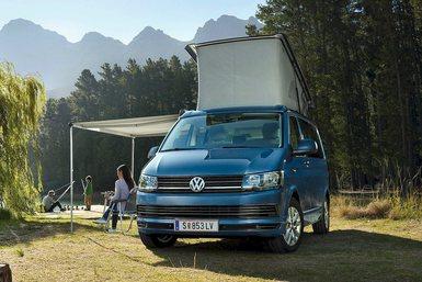 Volkswagen T6 California Coast caravan modeljaar 2019