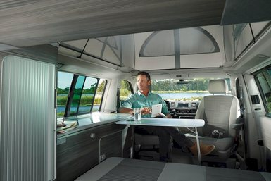 Volkswagen T6 California Ocean caravan modeljaar 2019