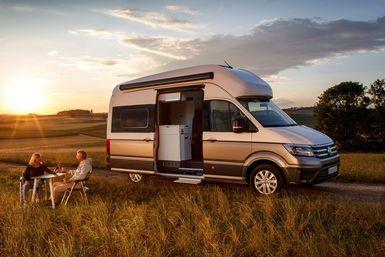 Volkswagen Grand California camper modeljaar 2021